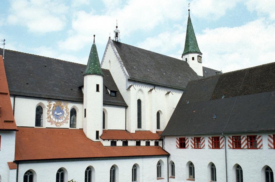 Außenansicht der Klosters Heiligkreuztal