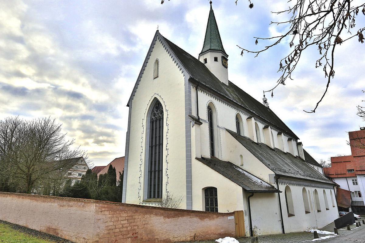 Klosterkirche St. Anna des Klosters Heiligkreuztal; Foto: Staatliche Schlösser und Gärten Baden-Württemberg, Markus Schwerer