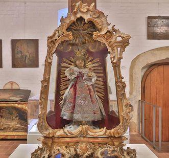 Detail des Prager Jesuleins im Museum in der Bruderkirche des Klosters Heiligkreuztal; Foto: Staatliche Schlösser und Gärten Baden-Württemberg, Markus Schwerer