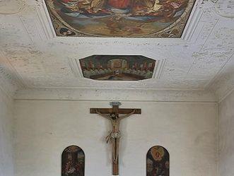 Nonnenempore in der Bruderkirche des Klosters Heiligkreuztal; Foto: Staatliche Schlösser und Gärten Baden-Württemberg, Markus Schwerer