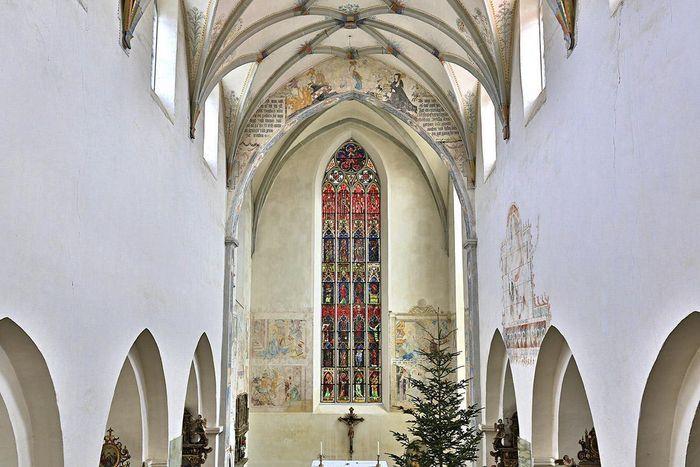 Chorfenster in der Klosterkirche St. Anna des Klosters Heiligkreuztal