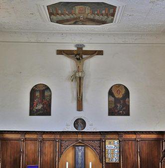 Die Nonnenempore in der Bruderkirche des Klosters Heiligkreuztal; Foto: Staatliche Schlösser und Gärten Baden-Württemberg, Markus Schwerer
