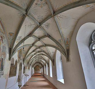 Kreuzgang der Klosterkirche Heiligkreuztal; Foto: Staatliche Schlösser und Gärten Baden-Württemberg, Markus Schwerer