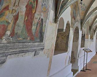 Kreuzgang im Kloster Heiligkreuztal
