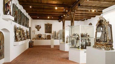 Museum in der Bruderkirche des Klosters Heiligkreuztal; Foto: Vermögen und Bau Baden-Württemberg, Amt Ulm