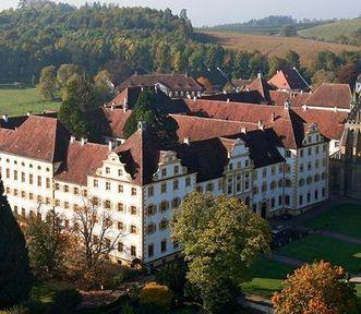 Kloster Salem aus der Luft