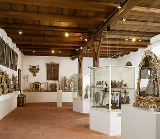 The museum in the Church of Brothers displays examples of the craftmanship and artistry of the convent's inhabitants