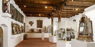Blick in das Klostermuseum in der Bruderkirche des Klosters Heiligkreuztal